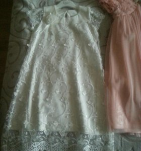 Платье детское новое