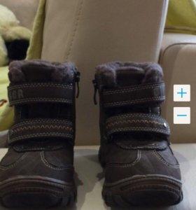 Ботинки зима р.25