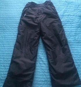 Зимние брюки на мальчика рост 152-158
