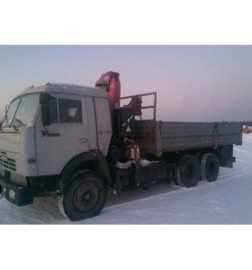 КАМАЗ 53215 с манипулятором 2006 год