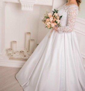 Свадебное платье, туфли, аксессуары