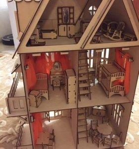 Кукольный домик-чудо дом