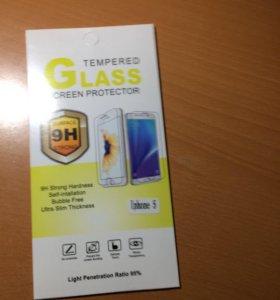 Защитное стекло для айфона 5/5s
