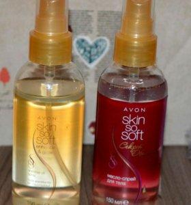 Масло-эликсир для тела Avon Skin so soft Нежность