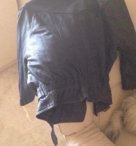 Куртка кожаная косуха новая