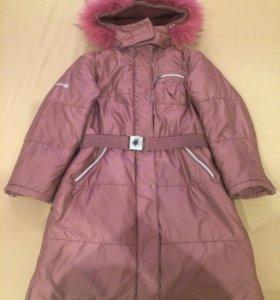 Пальто зимнее р. 134-140