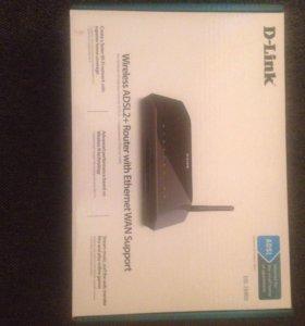 D-link wireless ADSL2+  router dsl-2640u