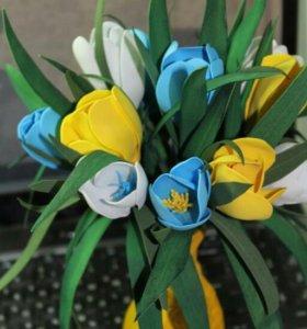 Цветы, крокусы