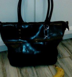 Женская сумка новая натуральная кожа