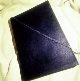 Тетрадь в кожаном переплёте,формат А4