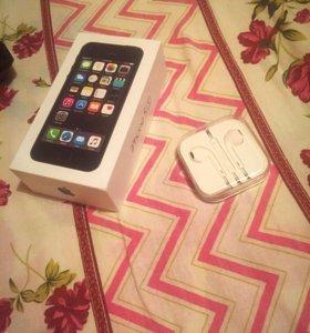 Коробка от iPhone 5s space grey