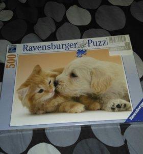 Знаменитые пазлы Ravensburger Puzzle 500