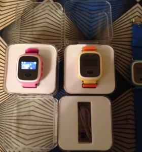Умные часы- телефон q60s, для школьников