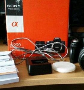 Sony а290+карта 16г