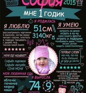 Постер достижений