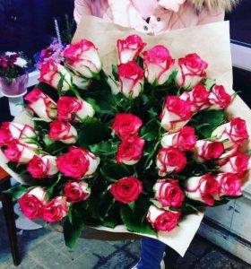 31 роза ,доставка цветов.