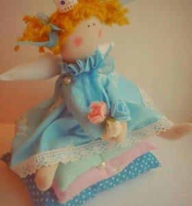 Принцесса на горошине из ткани