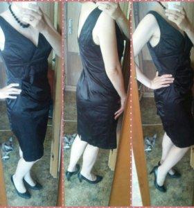Вечернее атласное платье. Обмен