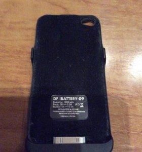 Чехол зарядка на iPhone 4