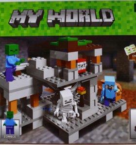 Конструктор Minecraft My World, новый товар