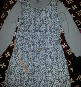 Платье детское Zara. 7-8 лет