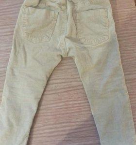 Вильветовые джинсы Zara BabyBoy