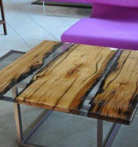 Изготовление декоративных столов