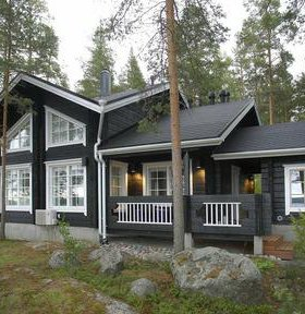 Дом из строганного бруса