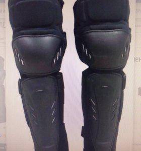 Велосипедная защита на ноги колено и голень