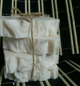 Настоящее натуральное хозяйственное мыло с нуля