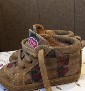 Ботинки для девочки 21 размер