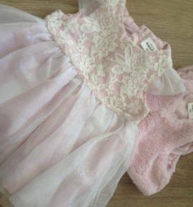 Красивое платье на малышку