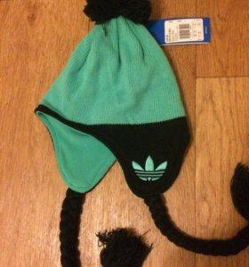 Новая шапка Adidas размер 50-52 см