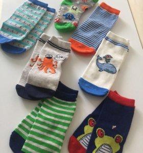 носки новые детские