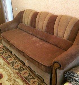 Диван ( + 2 кресла )