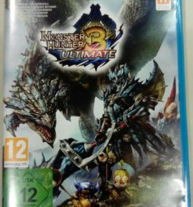 Monster Hunter 3 Ultimate Nintendo WiiU