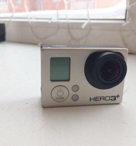 Экшн Камера GoPro HERO3+ silver edition