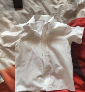 Рубашка для мальчика, белая