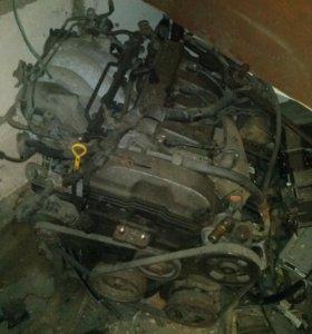 Двигатель на MAZDA 626
