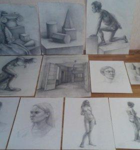Картины рисунки почти даром