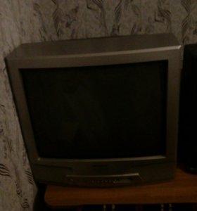 Акустика 5.1+DVD-BBK,телевизор