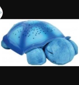 Синяя черепашка