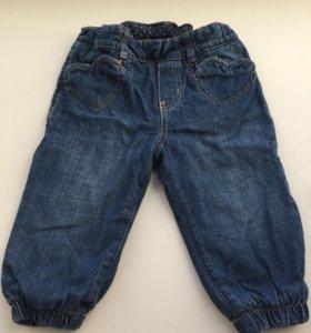 Джинсы, брюки 74-80см