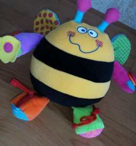 "Развивающая игрушка ""Пчёлка"". Погремушка"