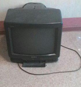 Телевизор сони 14 дюймов показывает лучше жк
