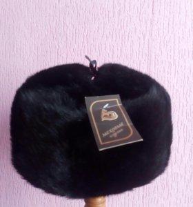 Норковая новая шапка ушанка муржская