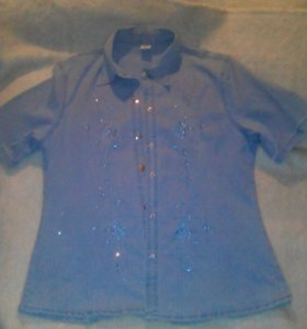 Рубашка джинцевая
