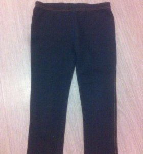 Легинсы для девочки под джинс.