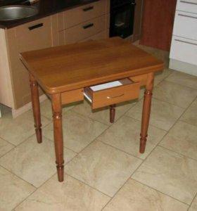 Стол раскладной (Ломберный) с ящиком .