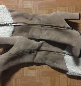 Новые зимние сапожки 40(39) размера